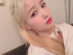 Kim Min, The Wiz, Clear Skin, Hair Styles, Honda, Kpop, Hair Plait Styles, Hair Makeup, Hairdos