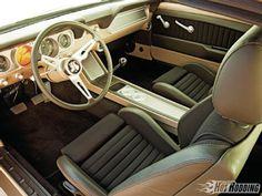 Custom 66 Mustang interior