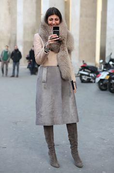 Giovanna Battaglia: love this coat