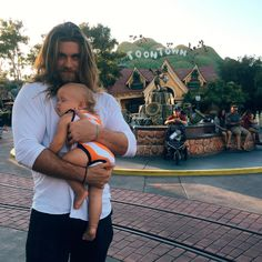 Brock O'Hurn ·   Didn't know it was possible to get happier at the happiest place on Earth.. Then this little nug fell asleep for two hours in my arms. Being an uncle is incredible!