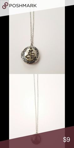 Hot Topic Anchor Locket Hot Topic Anchor long Locket Necklace. Hot Topic Jewelry Necklaces