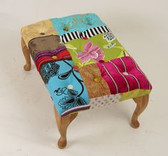 This is my latest Footstool hope you like it & make the most of what looks like another fantastic day :o)