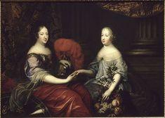 Anne of Austria with Queen Marie Thérèse by André Simon Renard de Saint.jpg