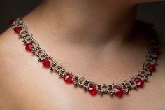 Frivolité à la navette: Mon nouveau collier