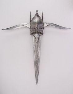 International Museums| Serafini Amelia| Dagger (Katar) | Indian | The Metropolitan Museum of Art