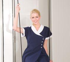 Claridge's housekeeping uniforms designed by Fashionizer