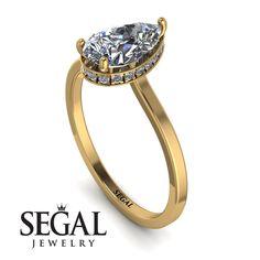 Pear Diamond Engagement Ring, Elegant Engagement Rings, Diamond Wedding Rings, Halo Engagement, Diamond Sizes, Unique Rings, Natural Diamonds, Classic Style, Chic