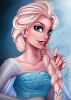 Elsa by Gabyhi A fan of all art and very jealous that I don't have the skills to create the same kind of work. But am pleased to share a few that I like... ( Educational director of www.cyber-advertising-ltd.co.uk )