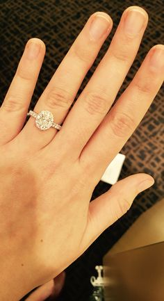 Neil Lane Oval Engagement Ring Dream Wedding Pinterest