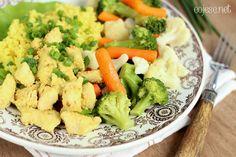 355 zdrowych przepisów dla Ciebie: szybko, smacznie i tanio!: Zdrowy i prosty obiad - kurczak w marynacie jogurtowo - czosnkowej