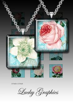 printable pictures for resin jewelry | ... collage sheet 1,5 inch squares for Resin Jewelry Printable Download