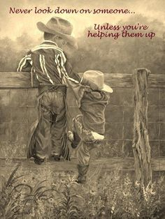 'Little Cowboy Up' (by June Dudley). Little Cowboy, Cowboy And Cowgirl, Cowboy Pics, Cowgirl Photo, Cowgirl Baby, Great Quotes, Me Quotes, Inspirational Quotes, Motivational