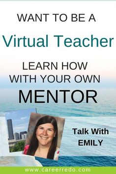 The world of virtual teaching can be yours. Reserve time with Emily to get all of your questions answered. Your career change starts here. #virtualteaching #teacher #careerchange #careerchangeideas Career Change At 30, Career Change For Teachers, Midlife Career Change, New Career, Career Advice, Teacher Resume Template, Resume Templates, Veteran Jobs, Career Fields