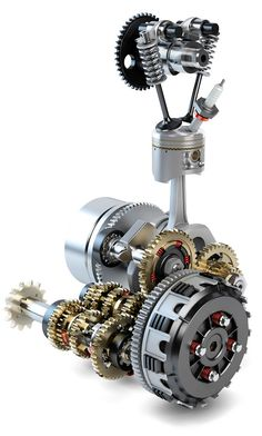 Mechanical Gears, Mechanical Design, Mechanical Engineering, Motorcycle Wiring, Motorcycle Mechanic, Motor Engine, Motorcycle Engine, Vintage Motorcycles, Cars And Motorcycles