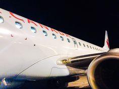 Welcoming Air Canada E90 AC1170 YYZ-YQX (June 14, 2014)