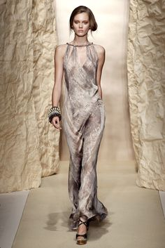 A dress for Irri when she is vying for Rahkaro's affections with Jhiqui Donna Karan S/S 2011