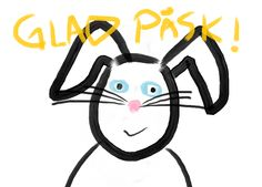 Glad Påsk! Happy Easter :D  According to Swedish folklore, during Easter the witches fly to Blåkulla (the Blue Mountain) to meet the devil. Kids dress up as witches or hags and go from house to house getting treats and candies. Its like Halloween For US & UK but in easter!
