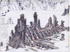Stone Grass Ruins