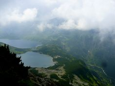 Valley of 5 lakes in Poland