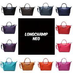 Qoo10 - AUTHENTIC LONGCHAMP LE PLIAGE NEO SERIES TOTE BAG 1512/1515 (RECEIPT P... : Bag & Wallet