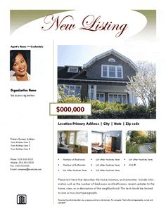 Real Estate Flyer Design  Webxpress    Flyers Real