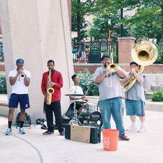 Live Music by Crush Funk Brass