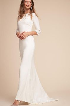 Very pretty and simple wedding dress