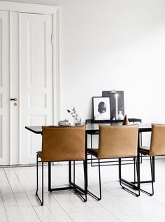Kyst is a contemporary and comfortable dining chair. It is stackable and practical with cushions that can easily be removed for washing or dry cleaning. Comfortable Dining Chairs, Eating Alone, Dining Room Furniture, Chair Design, Cushions, Room Decor, Indoor, House Design, Contemporary