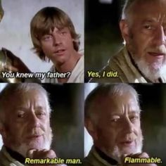 25 Star Wars Memes Thatll Instill You With The Force Funny memes that GET IT and want you to too. Get the latest funniest memes and keep up what is going on in the memeosphere. Anakin Vs Obi Wan, Anakin Vader, Anakin Skywalker, Neck Tatto, Prequel Memes, Star Wars Jokes, Funny Star Wars, Star Wars Gifts, Stupid Funny Memes