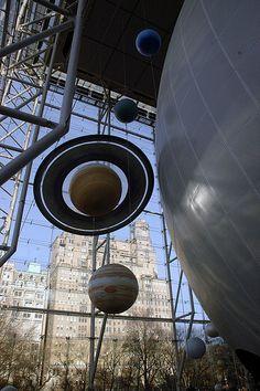 Hayden Planetarium, Museum of Natural History. New York