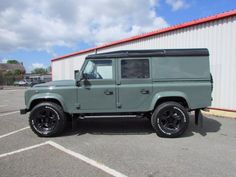 Land Rover Defender 110 2.2 TDCi XS Utility Wagon Over Land Edition Commercial Diesel Green