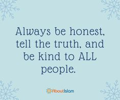 Always be kind to all people