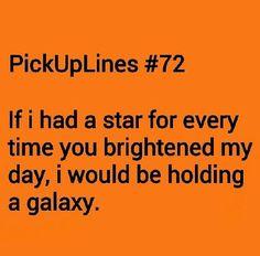 Sweet talk pick up lines
