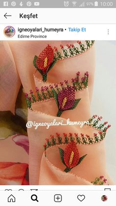 Hand Embroidery, Embroidery Designs, Needle Lace, Bargello, Scarf Styles, Free Crochet, Free Pattern, Diy And Crafts, Crochet Patterns