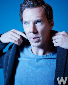 Benedict Cumberbatch at TIFF studio