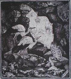 The Story of Caliph Stork - The Green Fairy Book by Andrew Lang, 1892