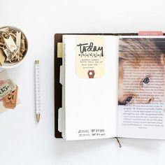 photo printed on velum in studio calico travelers notebook by @stephaniebbryan
