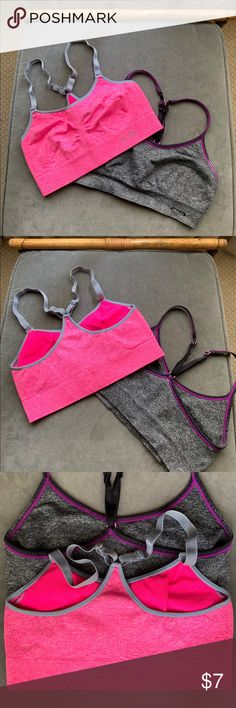 9d3e22da10d55 Multipack Sports bras Champion brand. Gently worn a couple of times each.  The grey