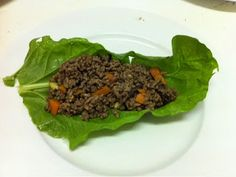 San Choi Bao/ Asian Taco/ Paleo Taco