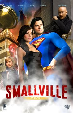 I haven't done a Smallville poster in a long time so I really wanted to do one. I based it off of the format for the Iron Man 3 cast poster. Superman Drawing, Batman Artwork, Superman Comic, Lois E Clark, Clark Kent, Smallville, Science Fiction Tv Shows, Movies And Series, Tv Series