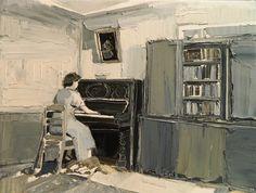 Clara Adolphs, 'Upstairs Room'
