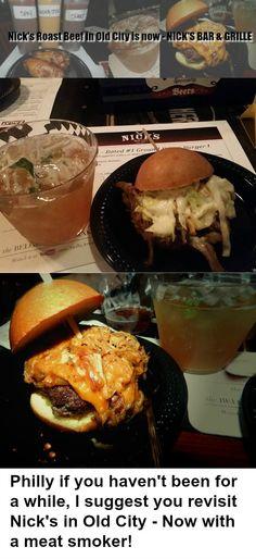 So glad I got to revisit @NicksOldCity. Check out recent BBQ Menu!