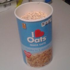 """""""I LUV OATS!""""  Definitely a time tested, heart-healthy meal!  Great way to start your day and to get some good protein in your system!  http://on.fb.me/1niujtJ  #morning #breakfast #meal #eat #oatmeal #meal #meals #oat #oats #sugar #yum"""