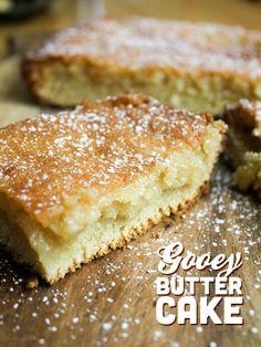 Gooey Butter Cake From Away.
