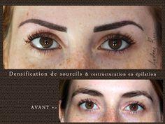 Maquillage permanent réalisé par Audrey Rojo © - Style libanais/ sophistiqué en…