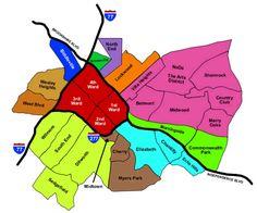 Charlotte Neighborhood Restaurants and Hotspots  - Foodie Guide #restaurants #Charlotte #NorthCarolina