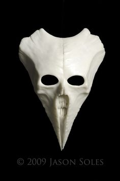 Carnivean Mask. $525.00, via Etsy.