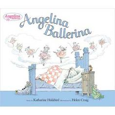 Angelina Ballerina Books :) My sister was mainly the one who read these but they were around so much when I was younger that I can probably consider it part of my childhood as well.