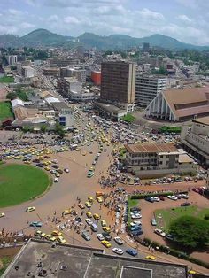 Yaoundé,  Cameroon the capital of the country