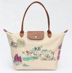 ffc734b2f7c8 The weekend bag.Longchamp halong medium long handle. Bag feveret sbb  roomier n boleh